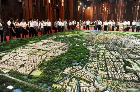 各具特色的未来科技城