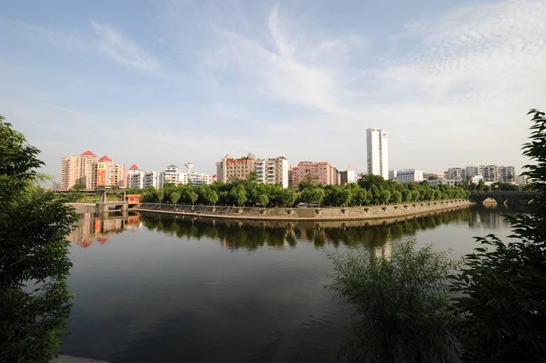 四川广安邓小平纪念馆-城市