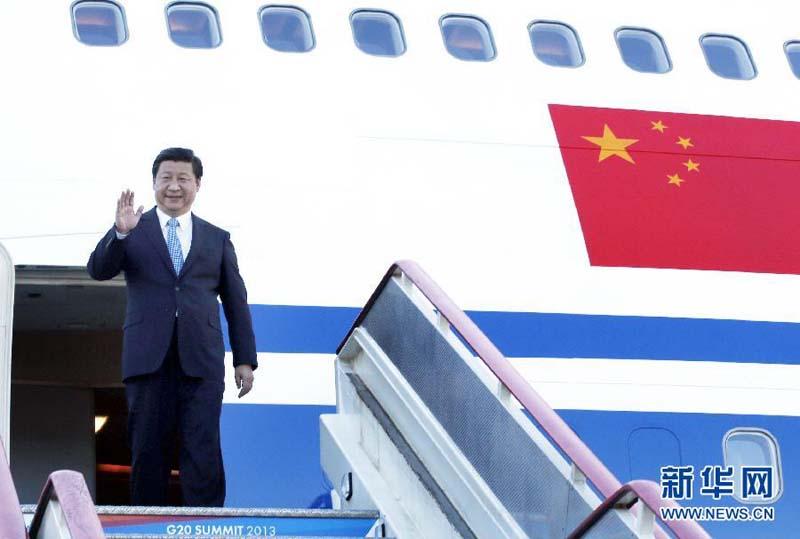 出席5日至6日举行的二十国集团领导人第八次峰会. 新华社记者 鞠图片