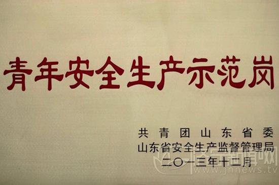 图 唐骏汽车公司团委总装团支部获得山东省青年安全生产示高清图片