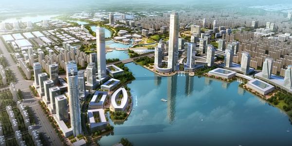 中央商务区周边城市设计