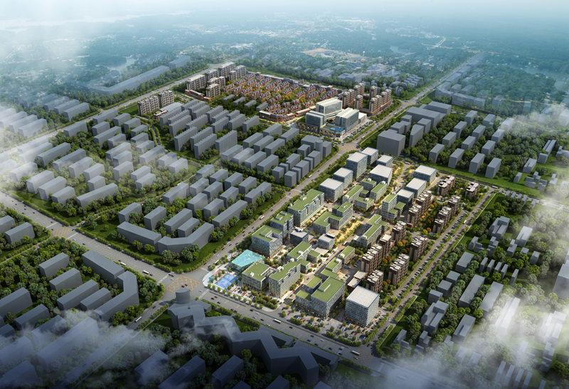 【高清图集】2014中国网络媒体青岛行第三站:城阳-青岛国家广告产业园