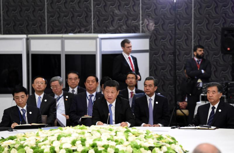 月15日,金砖国家领导人非正式会晤在土耳其安塔利亚举行,中国国图片