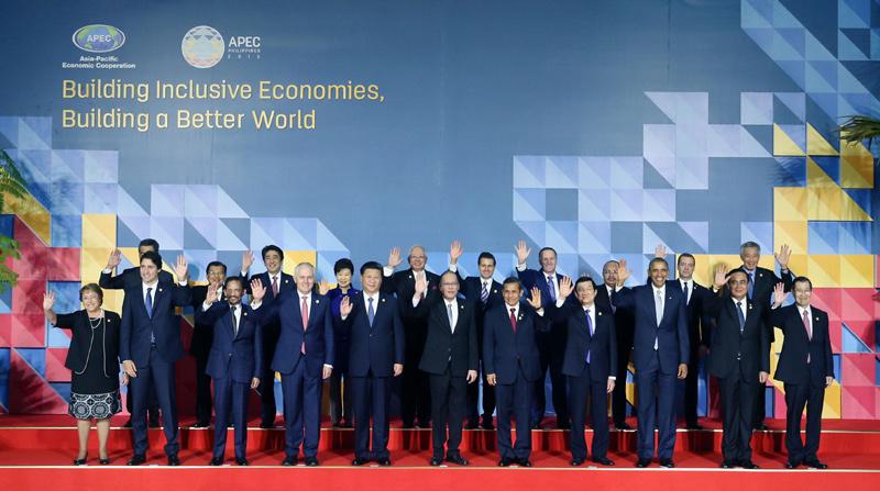 席G20峰会和APEC领导人非正式会议图片