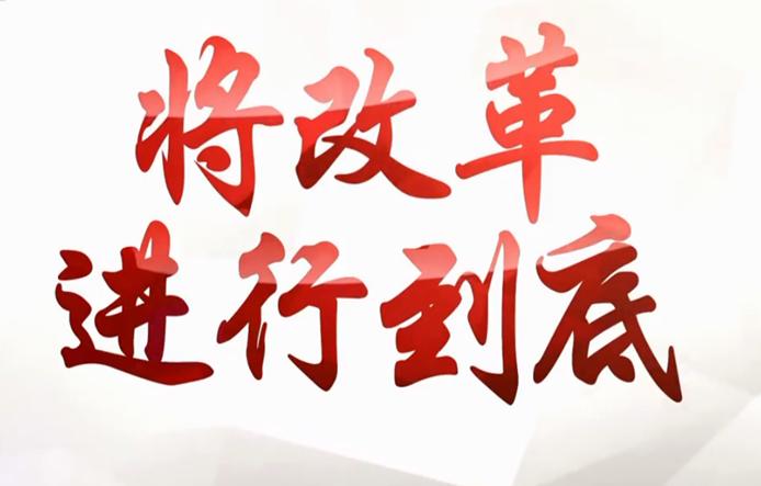十集大型政论专题片《将改革进行到底》
