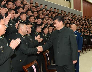 国家主席习近平视察第71集团军