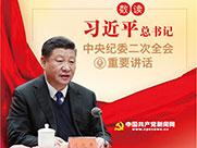 图解:数读习近平总书记中央纪委二次全会重要讲话
