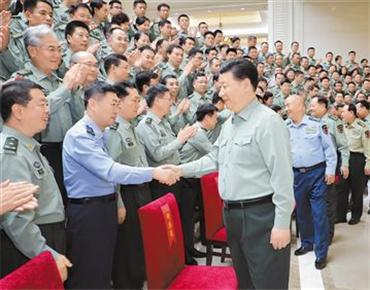 习近平视察军事科学院:努力建设高水平军事科研机构