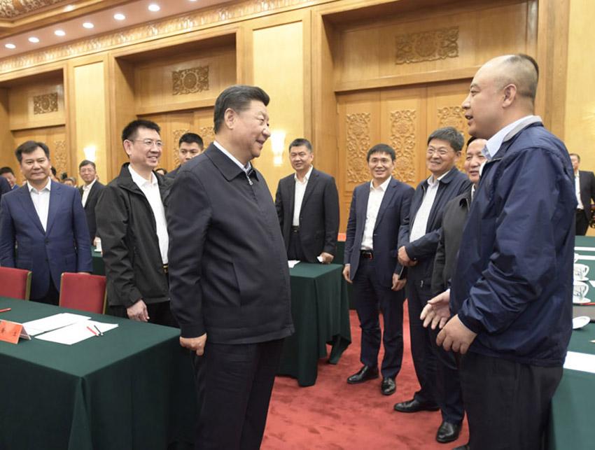 11月1日,中共中央总书记,国家主席,中央军委主席习近平在北京人民