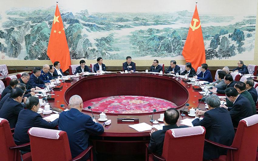 12月25日至26日,中共中央政治局召开民主生活会,中共中央总书记习近平