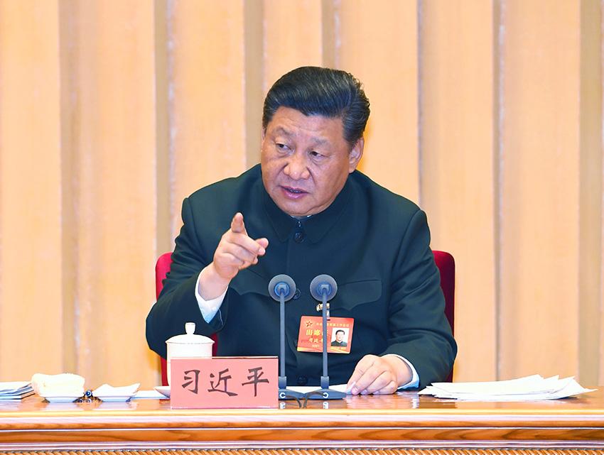 中共中央总书记,国家主席,中央军委主席习近平出席会议并发表重要讲话