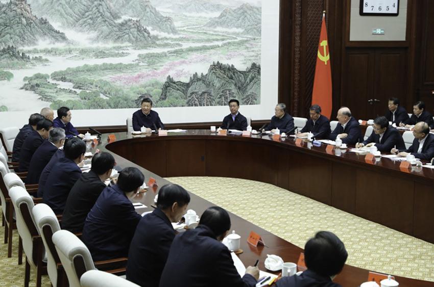 1月16日至18日,中共中央总书记,国家主席,中央军委主席习近平在京津冀