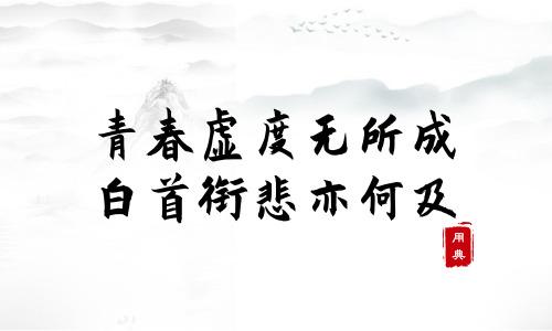 句句箴言,品读今年以来习近平引用的那些诗词典故(一)