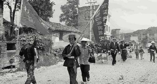 """5月2日,他离开老家葫芦岛市建昌县,赶赴瑞金,一个人南下开始自己的""""长"""