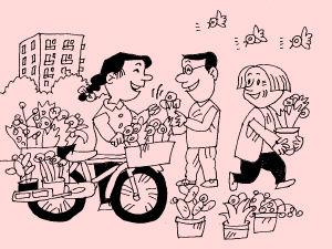 漫画:庆盛社区乐(3)ps漫画效果黑白图片
