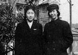 贺自珍与李敏在上海(20世纪50年代)