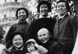 贺自珍与李敏、外孙及朋友在苏州(1974年)