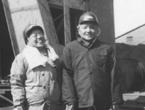 邓小平和卓琳在淮南煤矿