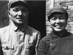 邓小平、卓琳在太行山