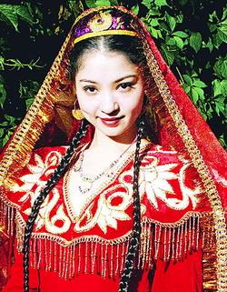 维吾尔姑娘