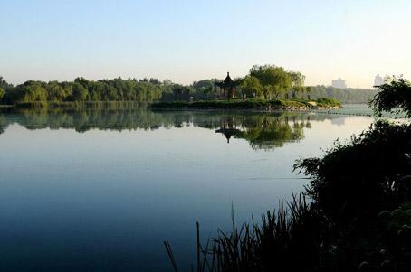 唐山/好大一个湖——唐山南湖让您与美丽的大自然亲密接触