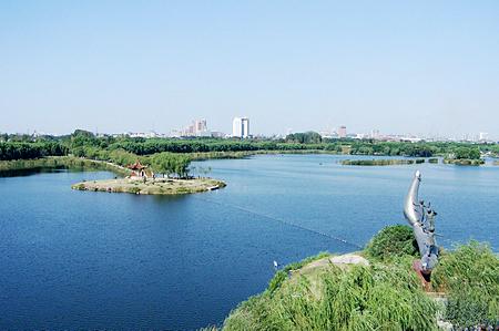美丽大南湖 唐山绿名片(2)