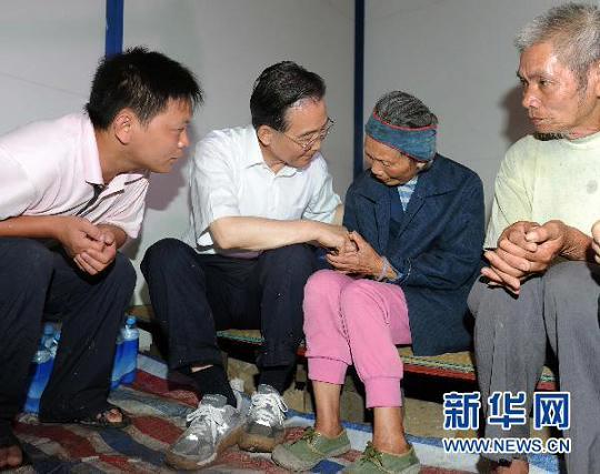 温家宝总理在广西指导防汛抗洪救灾工作纪实