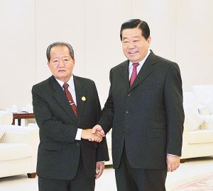 盟博览会的东盟国家领导人 2图片